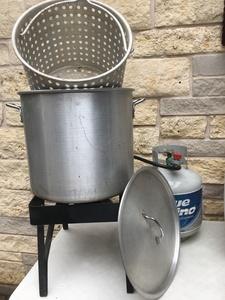 Crawfish / Shrimp Boil Event Package rental Austin, TX