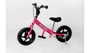 "Pink mini glider 12"" balance bike rental Austin, TX"