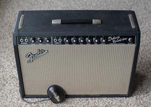 1966 Fender Deluxe Reverb Amplifier Vintage rental Austin, TX