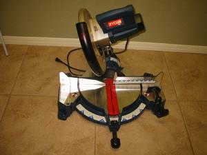 "Ryobi 12"" Compound Miter Saw with Laser Guide rental Austin, TX"