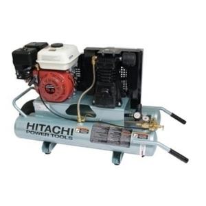 Hitachi Dual Tank 5.5hp gas Air Compressor rental Austin, TX