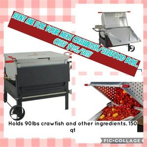 Crawfish Boiler rental Austin, TX