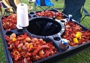 Crawfish table rental Austin, TX