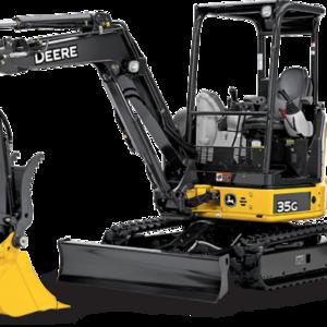 John Deere 35G Mini Excavator rental Austin, TX