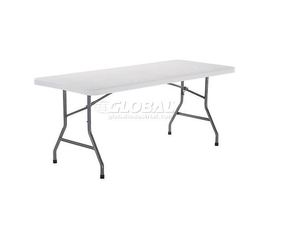 6 Foot Plastic Folding Table rental Austin, TX