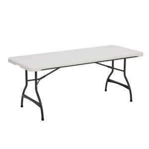 6' Folding Table rental Austin, TX