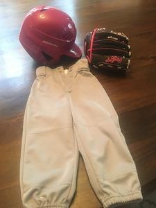 Pink Tball helmet, glove and pants rental Austin, TX