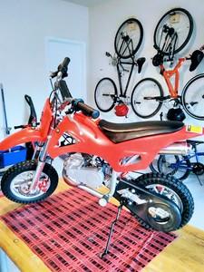 75cc Mini-Cycle rental Houston, TX