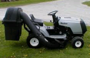 """Poulan 38"""" Riding Lawnmower & Grass Catcher  rental Youngstown, OH"""