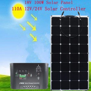 Sunpower Flexible 100W Solar Panel rental Yakima-Pasco-Richland-Kennewick, WA