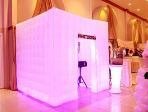 Inflatable LED Party Photo Booth rental San Francisco-Oakland-San Jose, CA