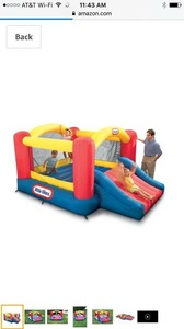 Little Times Jump n Slide Bouncer rental Austin, TX