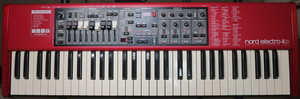 Nord Electro 4D 61 Semi-Weighted rental Charlotte, NC