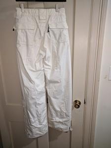 White snow pants - women's medium  rental Washington, DC (Hagerstown, MD)