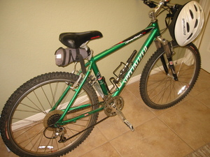 Specialized Hard Rock  mountain bike rental Austin, TX