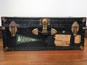 Vintage Trunk with Camp Pennants  rental Denver, CO