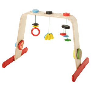 LEKA Baby gym, birch, multicolor rental New York, NY