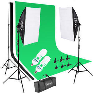 Chromakey Set with Two Softbox Lights rental Chicago, IL