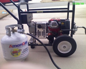 6000 Watt Portable Propane Generator rental Little Rock-Pine Bluff, AR