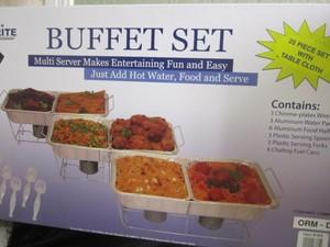 Buffet / chafing dish set rental Austin, TX