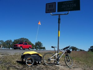 Burley Nomad Touring Cargo Bike Trailer rental Austin, TX