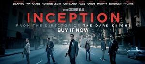 Inception DVD rental New York, NY