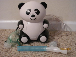 Nebulizer Child Friendly Panda Bear Shape for Rent rental Mobile, AL-Pensacola, FL