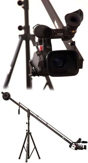 ProAm 8' Camera Crane / Jib rental Austin, TX