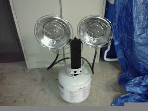 Propane Portable heater rental Richmond-Petersburg, VA
