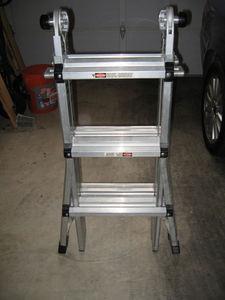 Ladder - Gorilla - Adjustable - Aluminum rental Austin, TX