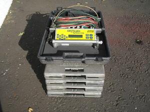 Intercomp SW1 corner weight scales rental San Francisco-Oakland-San Jose, CA